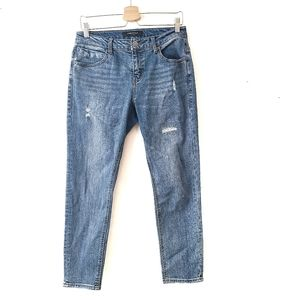 KENNETH COLE Cotton Blend Straight Blue Jeans 28